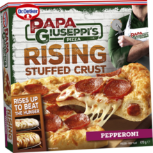 Papa Giuseppi's Rising Stuffed Crust Pizza - Pepperoni